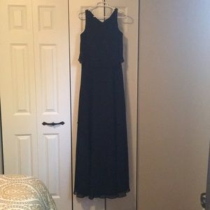EUC Black formal gown